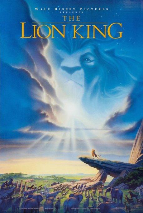 'The Lion King' DVD art