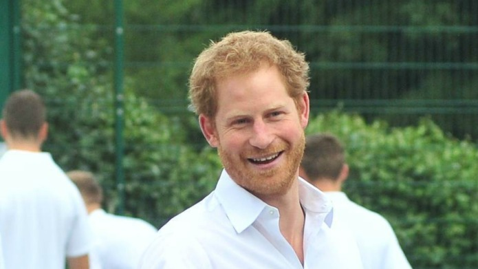 Red alert: Prince Harry did something