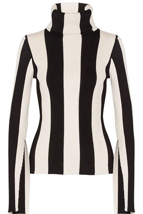 Ways To Wear Graphic Prints: Monse turtleneck at Net-a-Porter | Fall Fashion