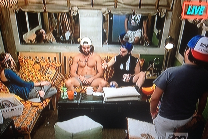 Victor, Michelle, Paul, James Big Brother 18