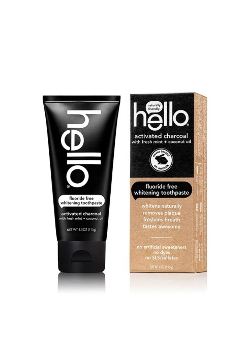 Game Changing Oral Hygiene Products | Hello Activated Charcoal Toothpaste