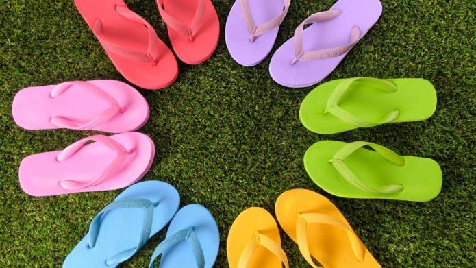 Fun flip flop styles