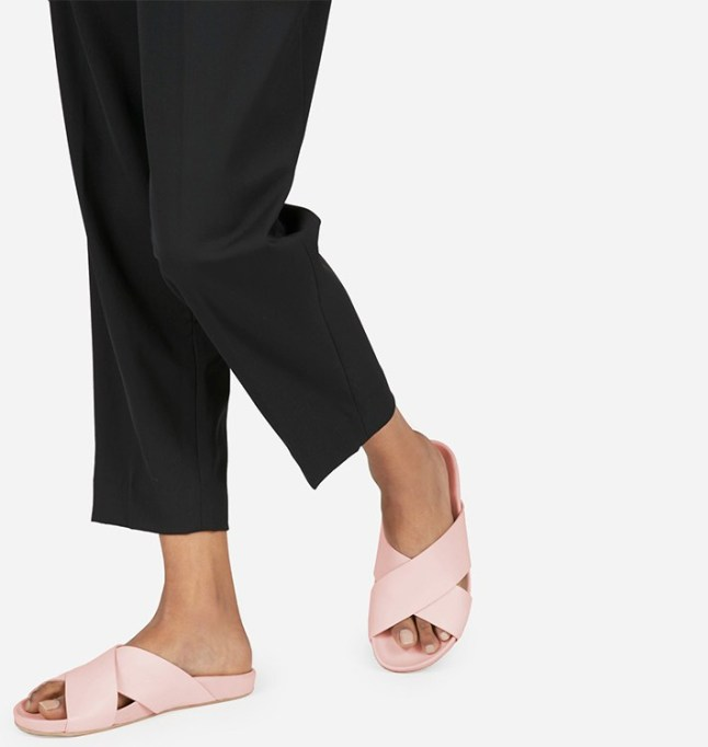 What to Wear to Every Summer BBQ: Everlane The Form Crossover Sandal | Summer Fashion 2017
