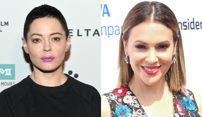 Rose McGowan Isn't OK With Alyssa