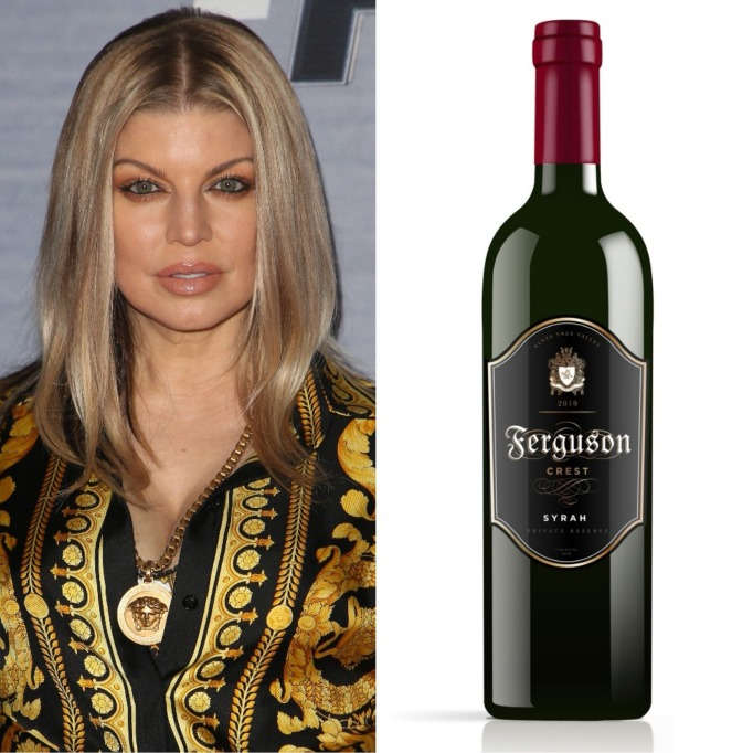 Fergie Ferguson Crest wine