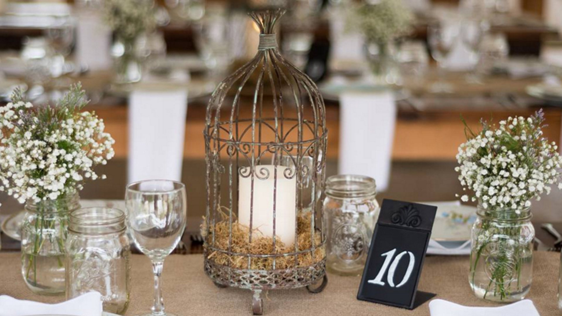 17 ways to add vintage flair to your wedding reception – SheKnows