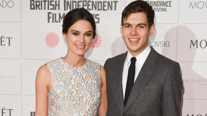 Keira Knightley is pregnant, shows off