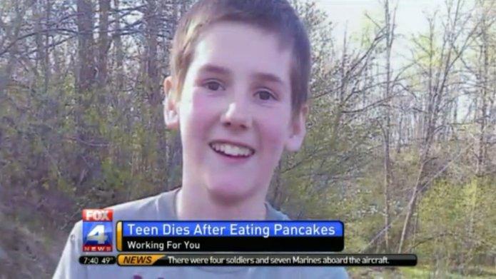 Teen's food allergy death spurs lawsuit