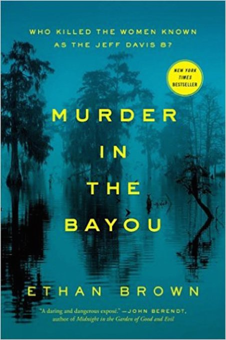 'Murder in the Bayou' by Ethan Brown cover
