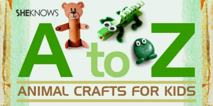 Animal crafts you can make with