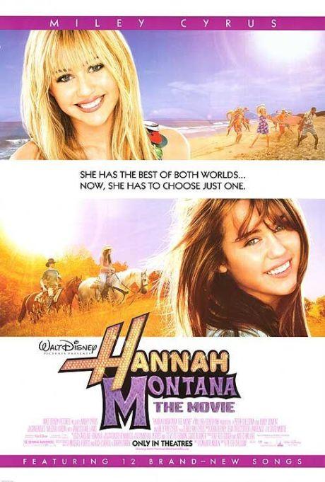 'Hannah Montana: The Movie' movie poster