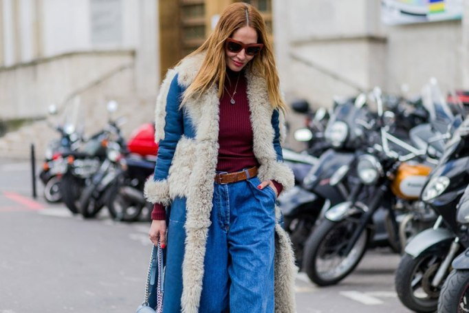 Perfect to Wear Shearling This Season | The Denim Party
