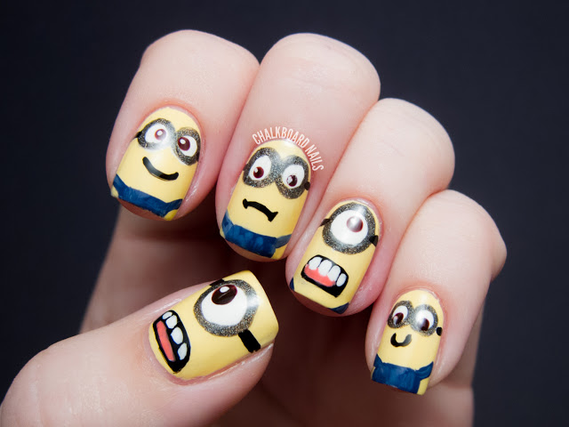 'Despicable Me' nail art