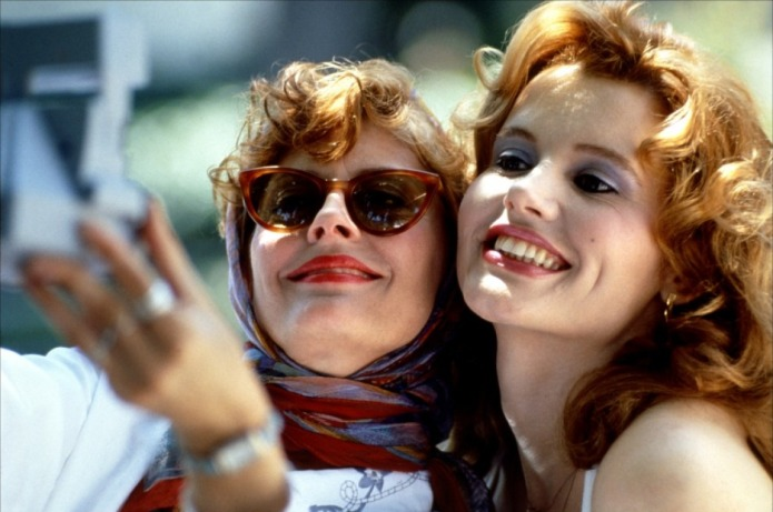 The cast of 'Thelma & Louise'