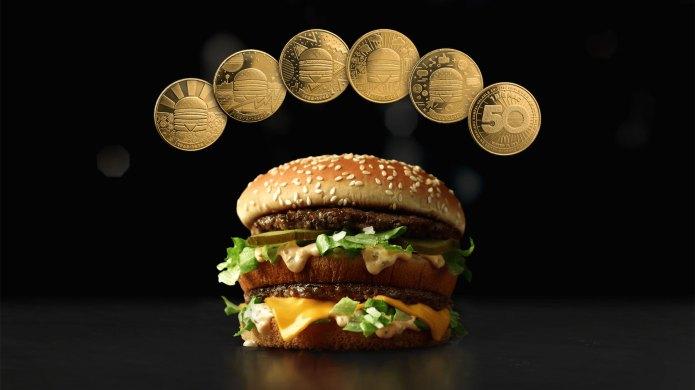 McDonald's Big Mac and MacCoins