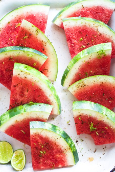 Easy Watermelon Recipes | Citrus and salt transform watermelon in this simple recipe.