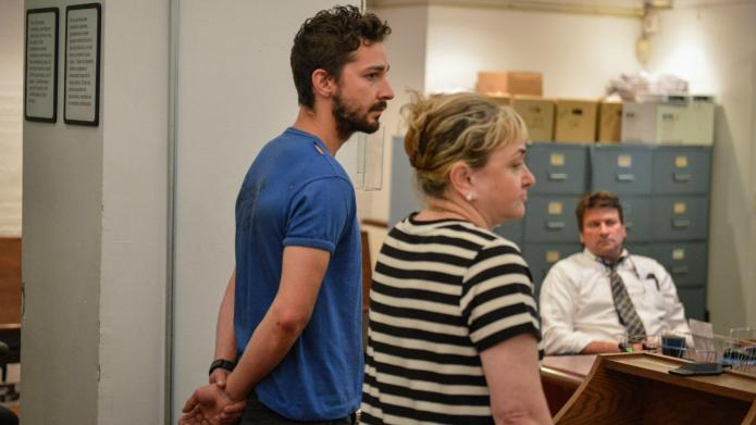 PHOTO: Shia LaBeouf in court after