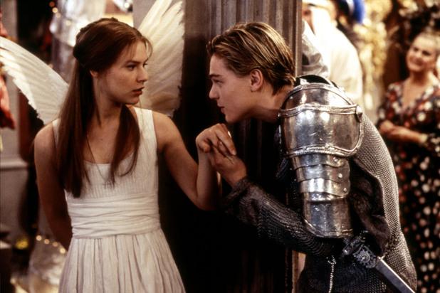 Claire Danes and Leonardo DiCaprio romeo and juliet