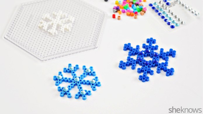 3 Snowflake crafts for kids —