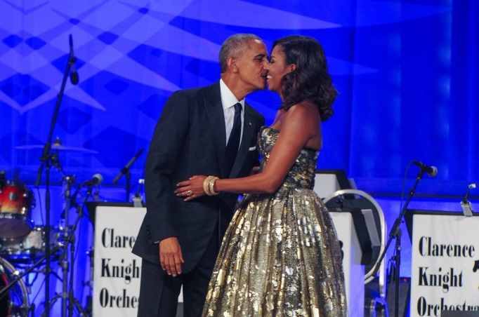 Celeb Couples Who Pack on the PDA: The Obamas