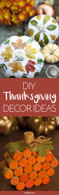 15 Easy Thanksgiving DIYs for Pinterest-Challenged Crafters