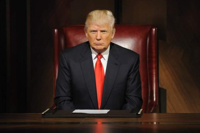 The Apprentice turned into a presidential