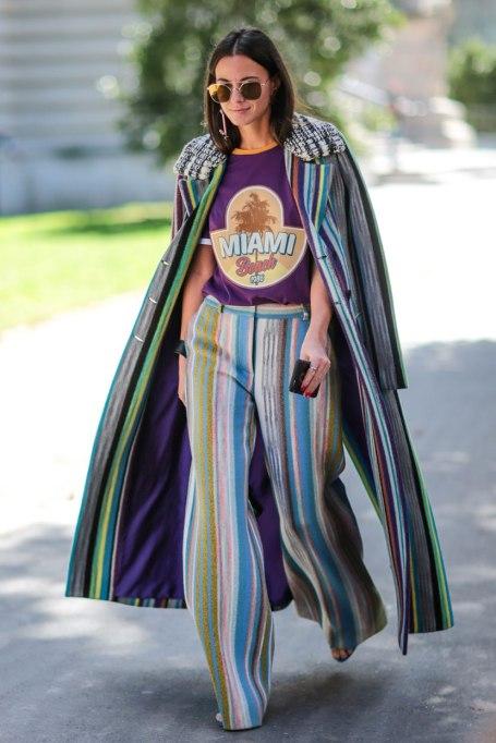 Ways To Wear Graphic Prints: Stripes On Stripes   Fall Fashion
