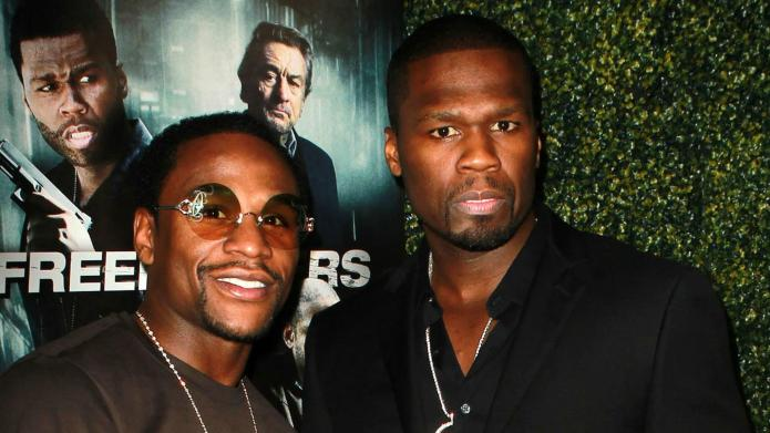 50 Cent dares Floyd Mayweather to