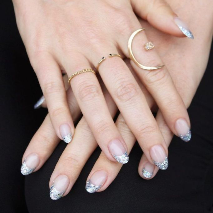 Top Nail Trends For 2018 | Glittered Tips