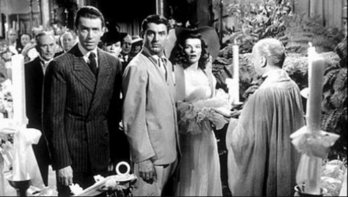 The Philadelphia Story wedding