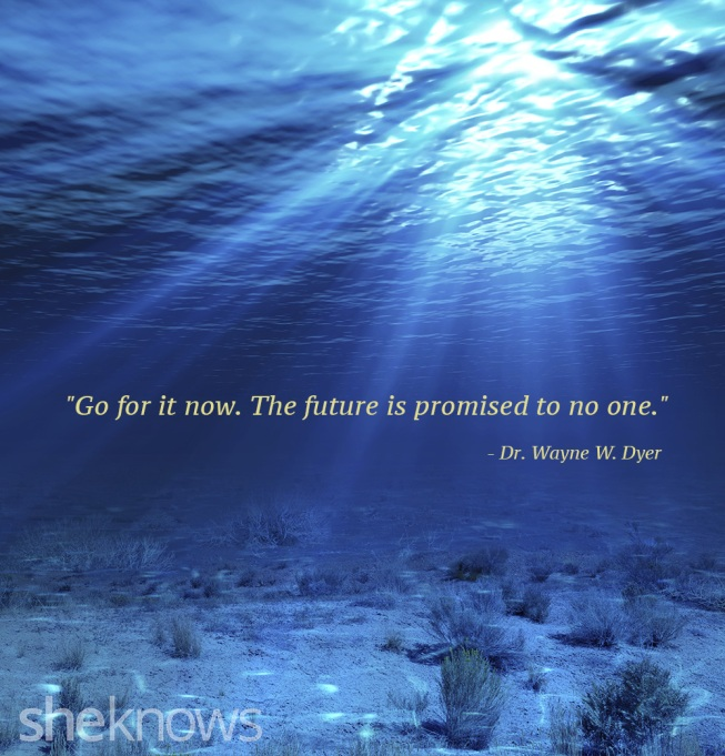 Dr. Wayne Dyer future quote
