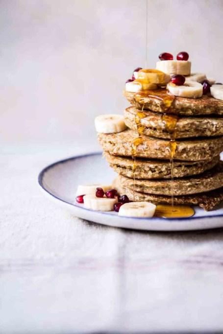 Easy Winter Breakfast Ideas | Healthy Chai Banana Pancakes
