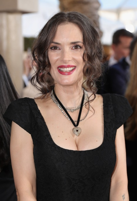 Celebrities Who are Honest About Aging: Winona Ryder, 45 years old