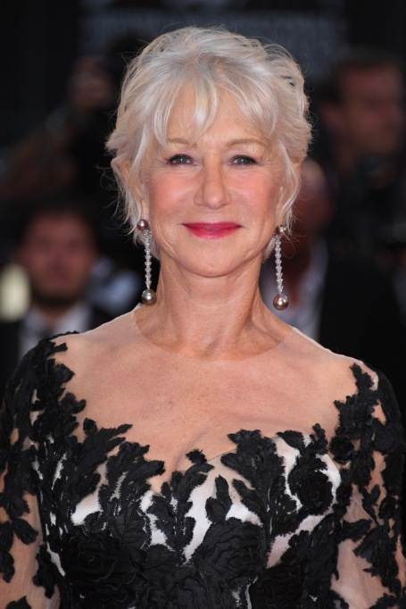 Celebrities Who are Honest About Aging: Helen Mirren, 72 years old