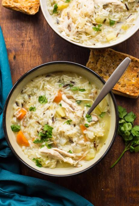 Instant Pot Thanksgiving: Start your meal with a bowl of soup