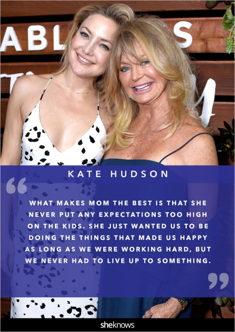 Kate Hudson and her mom