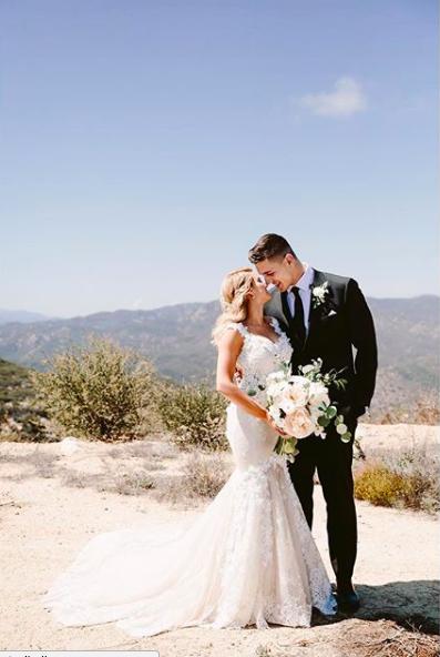 Photo of Tori Kelly's wedding