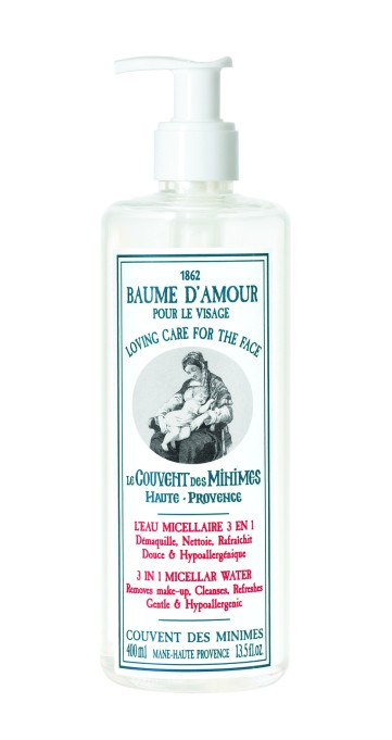 Some micellar water to put these tricks to the test | Le Couvent des Minimes Loving Care For the Face 3 in 1 Micellar Water