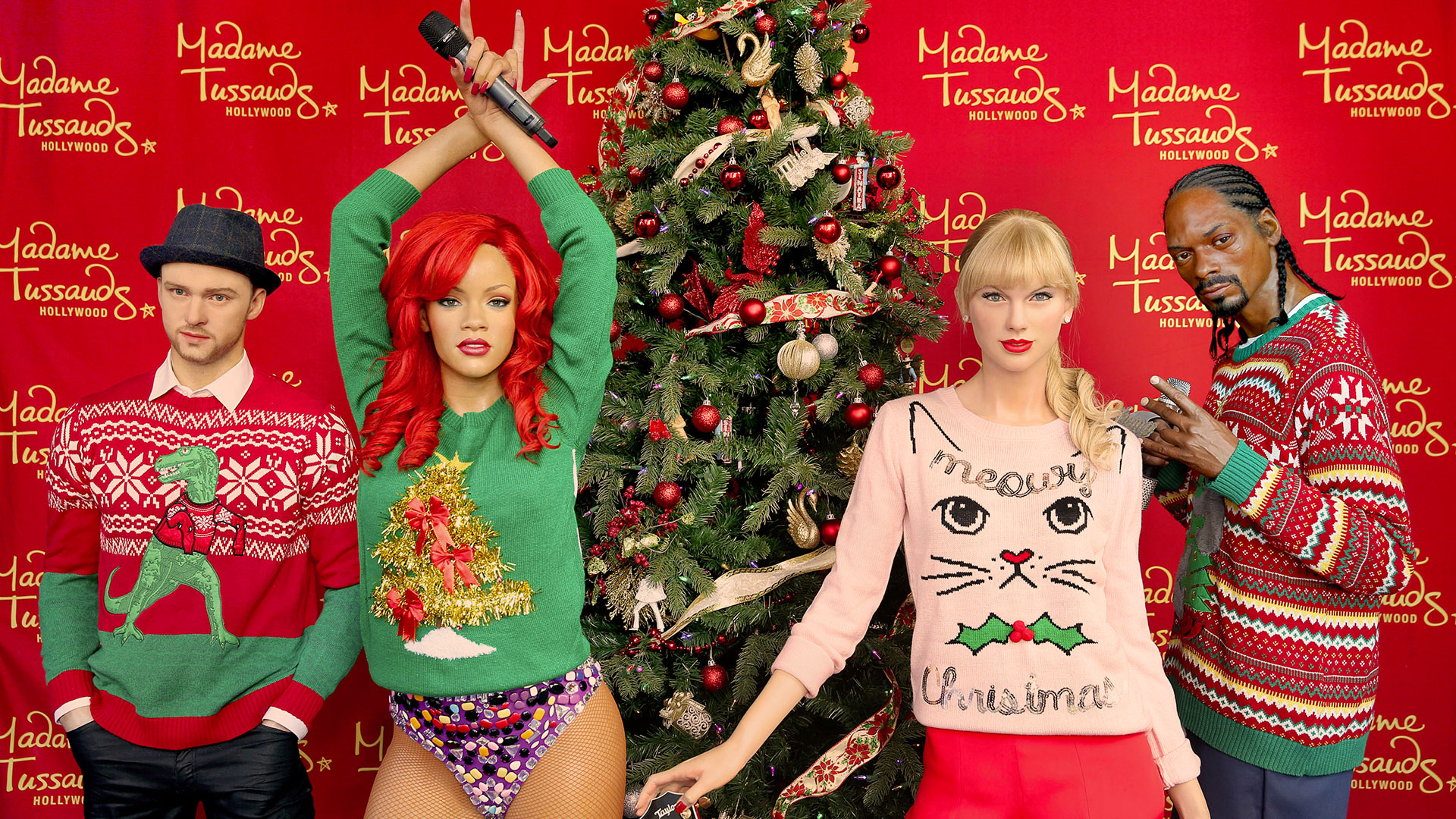 Celebrities Who Found Bought And Wore The Ugliest Christmas