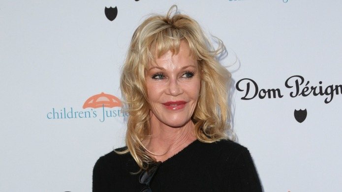 Melanie Griffith spreads holiday cheer with