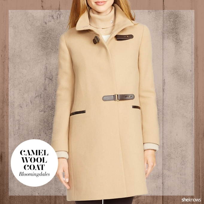 Camel coat for call