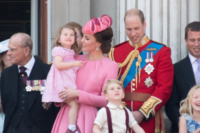 The Cambridges Trooping the Colour 2017