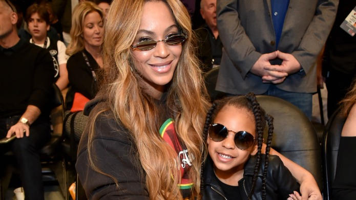 Blue Ivy Ducks for Cover at