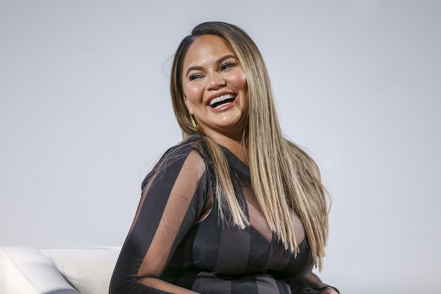 Chrissy Teigen attends Lip Sync Battle FYC Event Screening and Reception at Paramount Studios