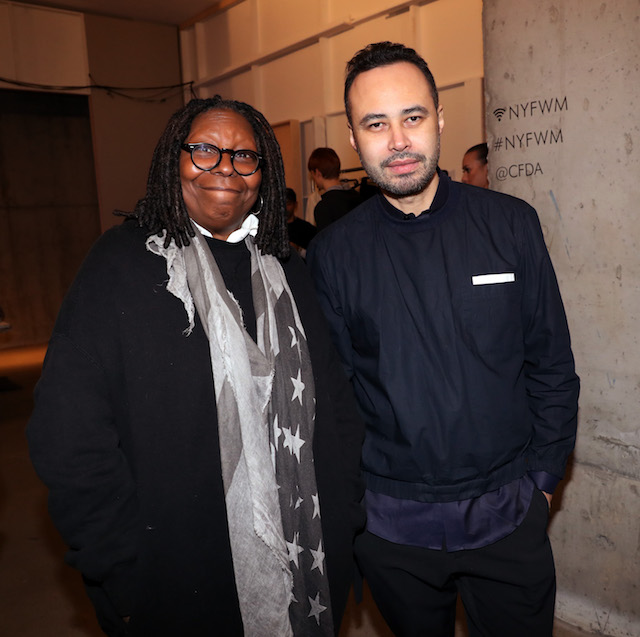 NYFW 2018 Celebrity Sightings: Whoopi Goldberg