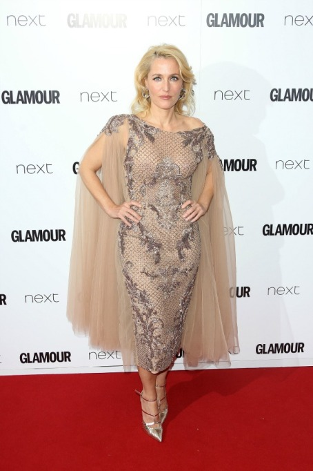 Gillian Anderson at Glamour Women of the Year Awards