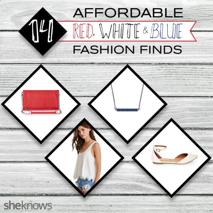 Red, white and blue fashion finds