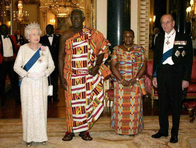 Queen Elizabeth II & Prince Philip in 2007