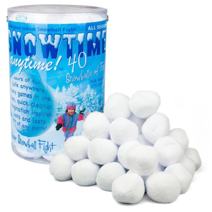 indoor snowballs