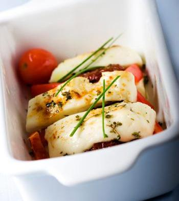 Creole baked goat cheese and other